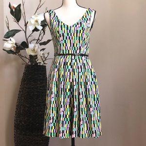 Calvin Klein Multicolored Sleeveless Dress